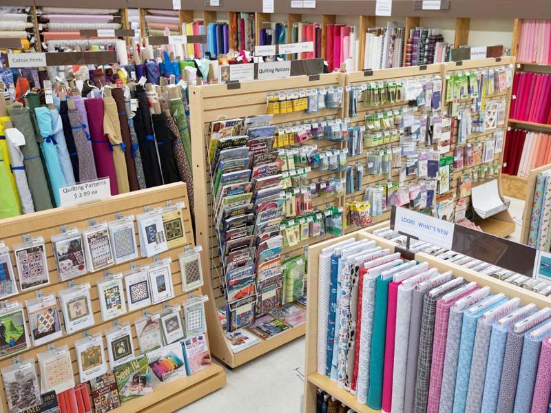 washington dc discount fabric store